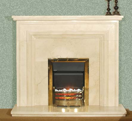 Fireplaces liverpool solid marble fireplace half price marble surround display sale - Solid stone fireplace mantels with nice appearance ...