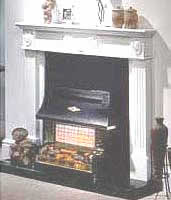 Robinson Willey, Sahara Deluxe Gas Fire, ut set fires, radiant fires, hearth mounted fires,