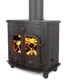 Broseley multi Fuel stoves including: York Petite Multi fuel stoves