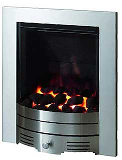crystal diamond gas fire