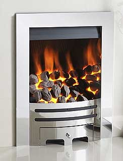 crystal gas fires by Fireplace Interior Studiio