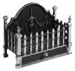 Castle Basket  Contemporary Fire Baskets