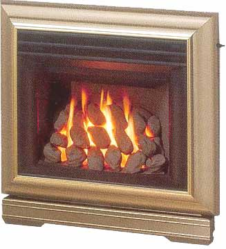 fireplace gas in the wall fireplaces