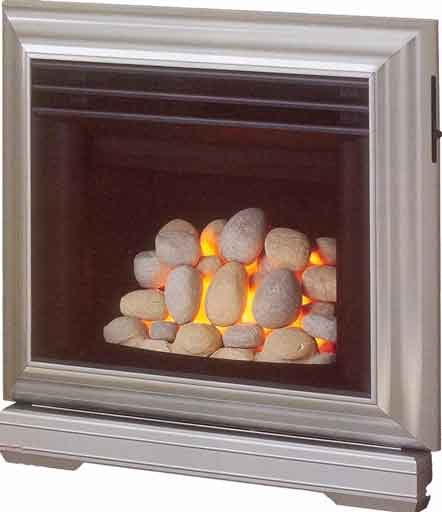 Contemporary Pebble Gas Fires Liverpool