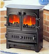 Villager and dimplex stoves. Click for Electric prices