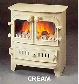 Genie Electric Stoves  by Villager, electric fires liverpool, electric Stoves