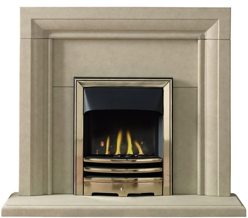 Fireplaces liverpool solid marble fireplace half price for Fireplace half stone