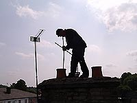 Chimney inspections / chimney sweeping / smoke testing