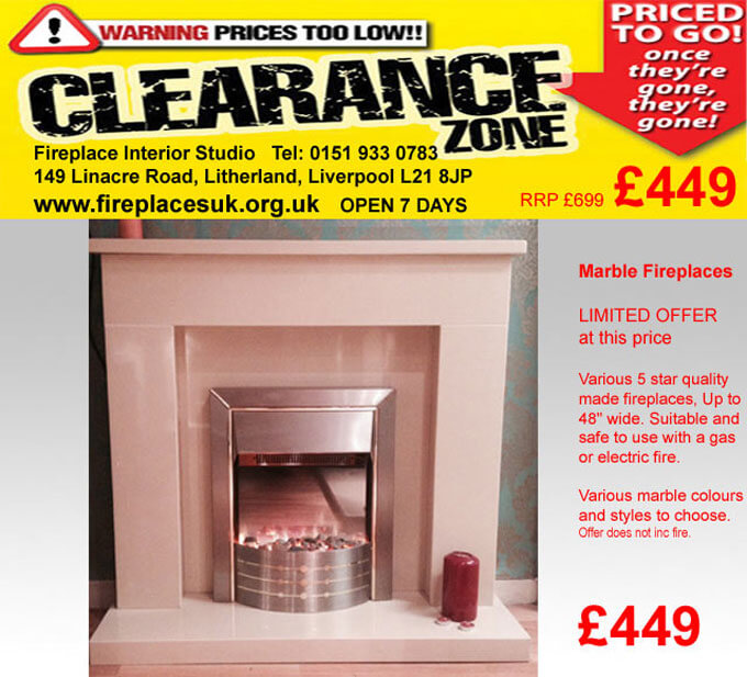 marble fireplace sale